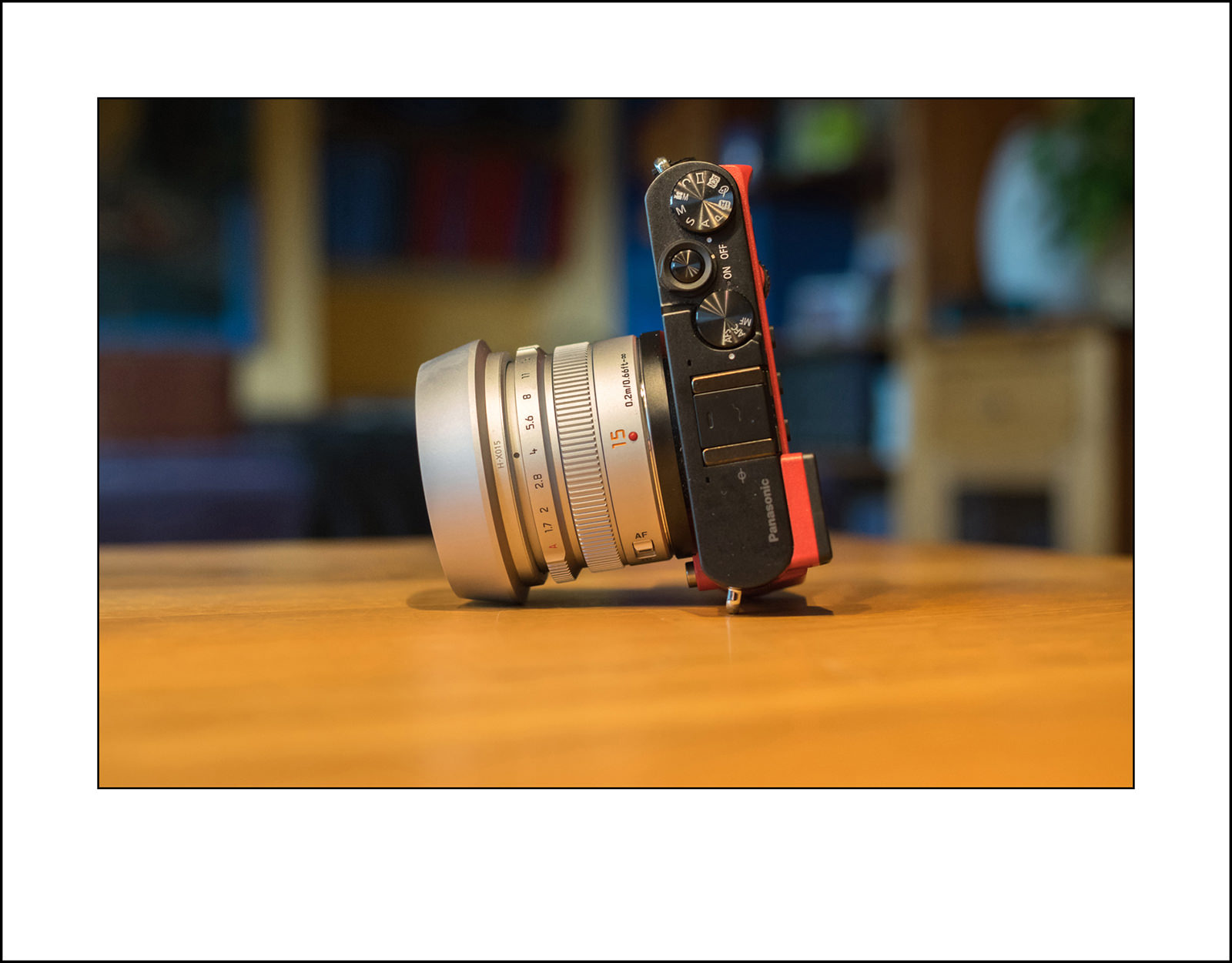 Panasonic GM5 - Panasonic Leica 15 f1.7