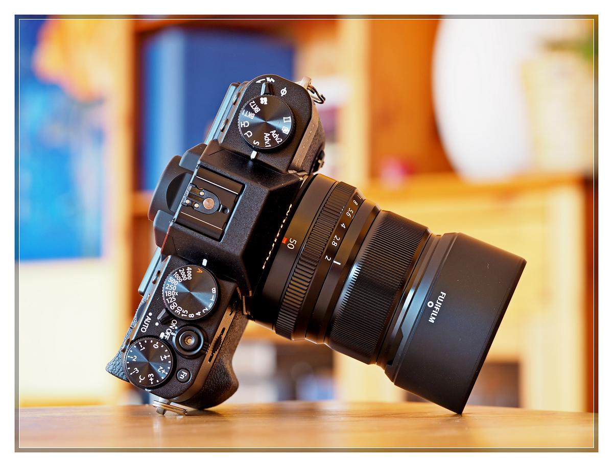Fujifilm XF 50 f2 mounted on X-T20