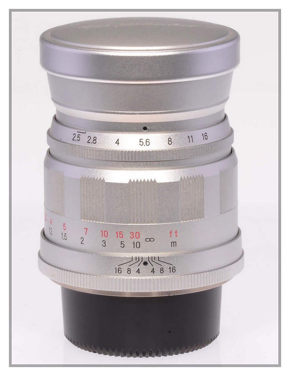 Voigtlaender Color Heliar 75 F2.5