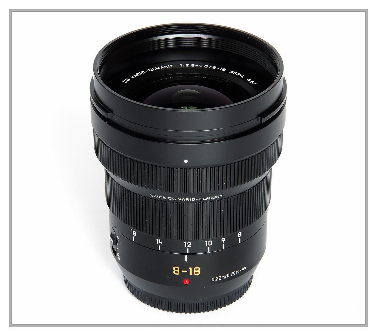 Panasonic Leica DG Vario-Elmarit 8-18 f2.8-4.0 ASPH