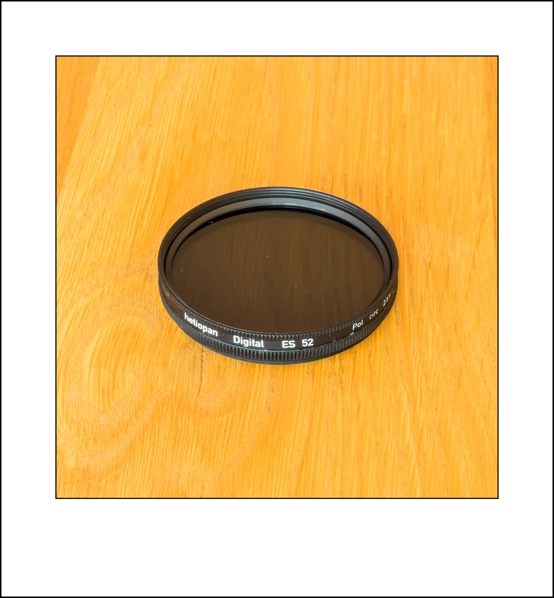 Heliopan 52mm circular polarizing filter